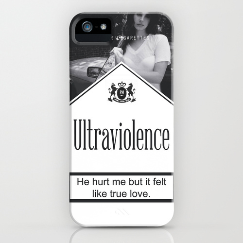 Ultraviolence Cigarettes iPhone & iPod Case by Rebeca Rodríguez | Society6