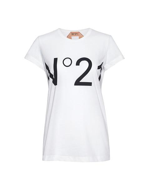 No.21 t-shirt shirt t-shirt white top