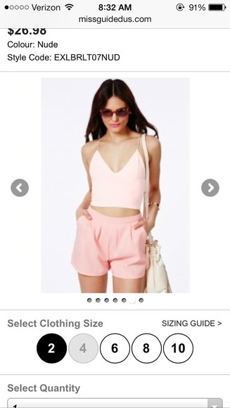 shorts pink shorts miss guided cute shorts