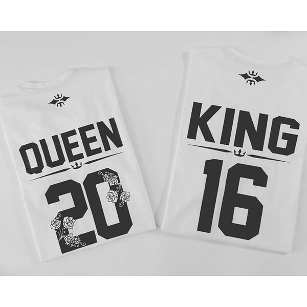 5f8c82f5f1 t-shirt king queen king queen king queen shirts couple shirts couple love  sugararmy