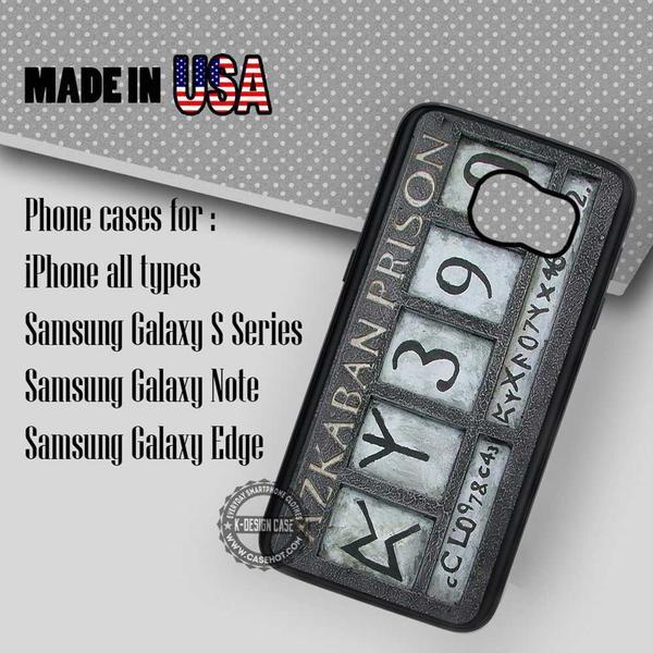 Samsung S7 Case - Plate Sirius Black - iPhone Case #SamsungS7Case #hp #yn