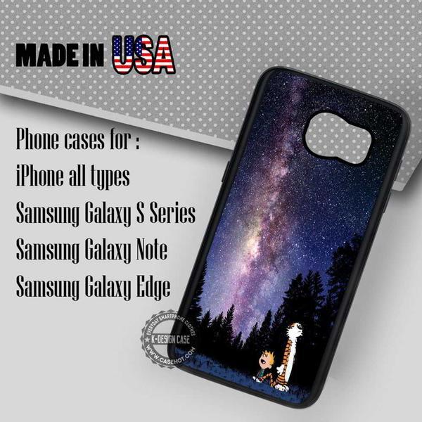 Samsung S7 Case - Calvin Nebula- iPhone Case #SamsungS7Case #cartoon #yn