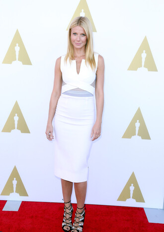 dress white dress gwyneth paltrow