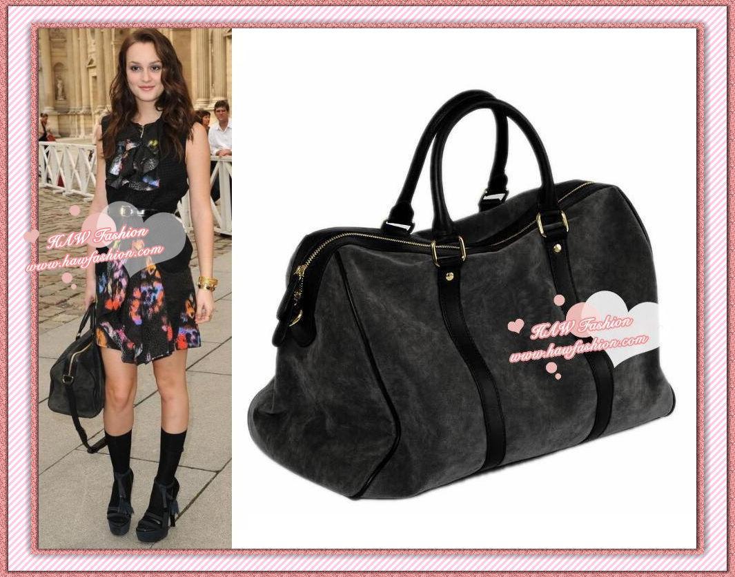 Gossip girl blair suede asphalt tote tote handbag purse en vente sur ebay.fr (fin le  13