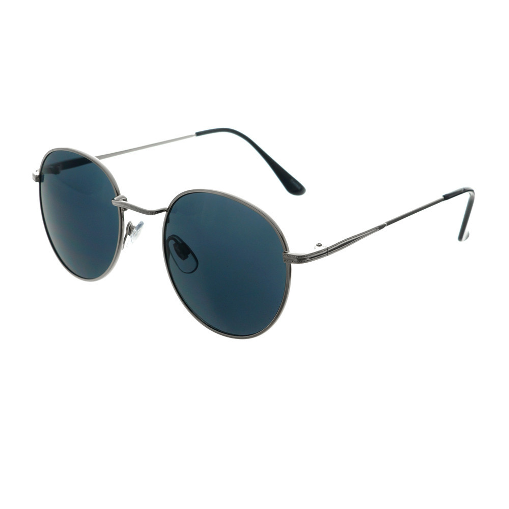 Retro vintage classic designer style metal round sunglasses r1360 – freyrs