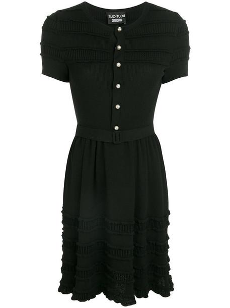 BOUTIQUE MOSCHINO dress button up dress women black