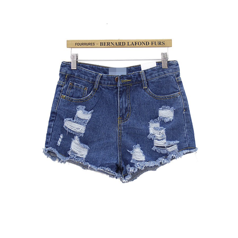 Ripped denim shorts / back order – holypink