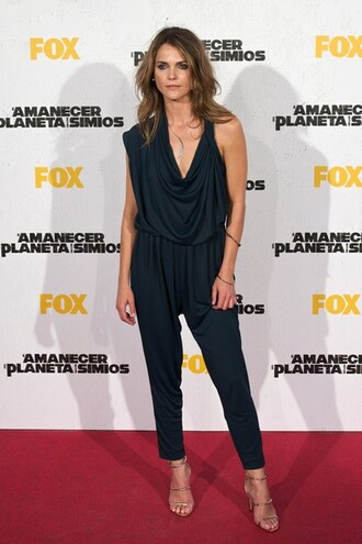 jumpsuit keri russell shoes sandals