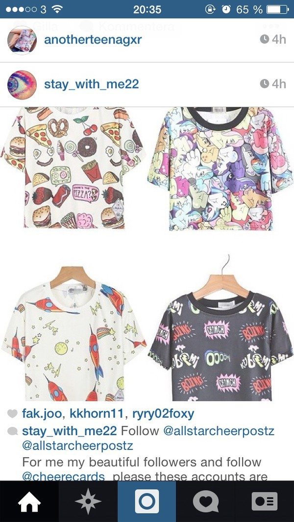 t-shirt grunge soft grunge comics my little pony