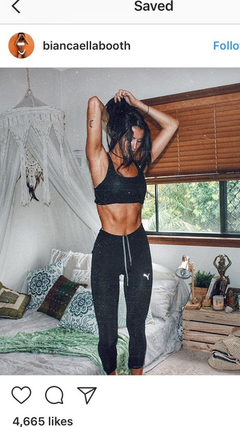pants leggings sportswear puma puma leggings nike workout black tight biancaellabooth hot sexy running weight training workout high waisted high waisted leggings workout leggings