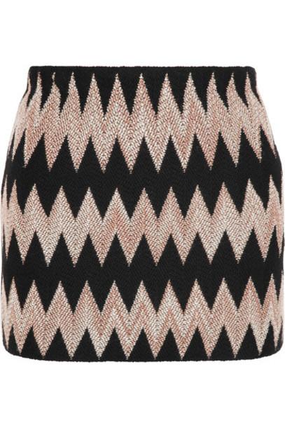 Missoni - Wool-blend Crochet-knit Mini Skirt - Black