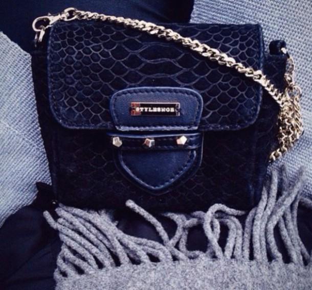 bag rly girl this ! snake skin black gold stylesnob crossbody bag