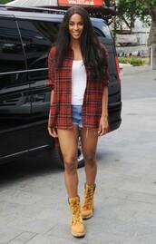 shirt,top,shorts,boots,ciara,shoes