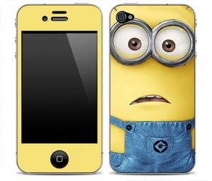 Despicable Me 1 iPhone Skin FREE SHIPPING | Sparkly Dresses