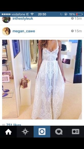 dress long lace dress lace dress maxi dress long dress prom dress pretty dress