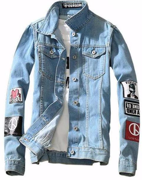 jacket denim jacket mens denim jacket