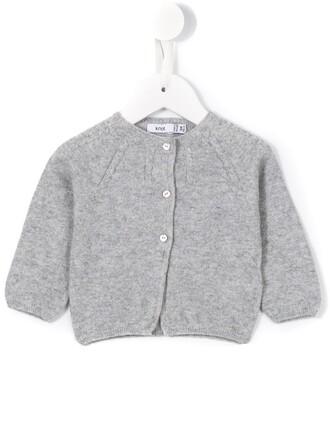 cardigan girl knit toddler grey sweater