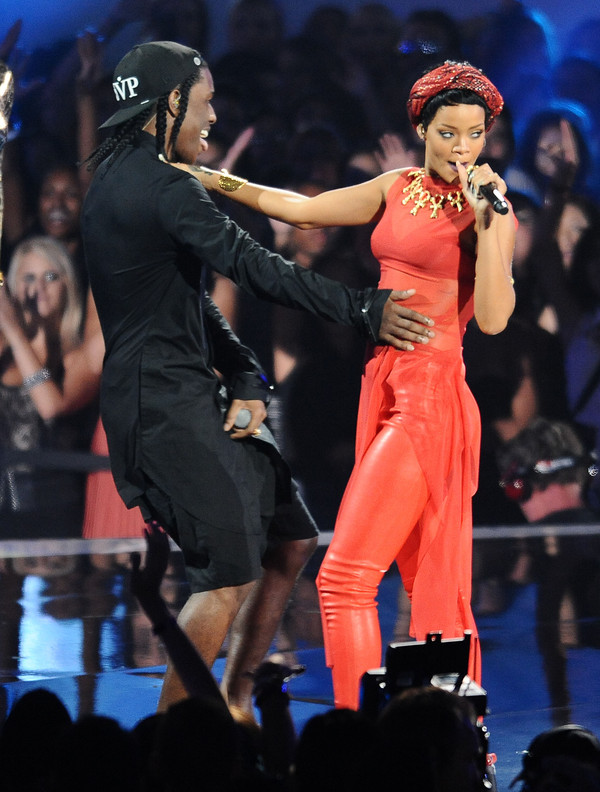 jewels rihanna ASAP Rocky