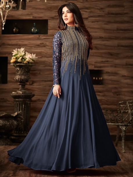 43c4c1a23 dress anarkali suit ethnic wear women wear designer suits partywear suit  sonal chauhan