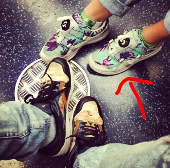 blue shoes puma shoes puma puma floral