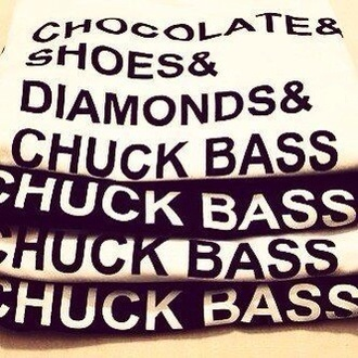 shirt chuck bass gossip girl diamonds chocolate shoes love blouse