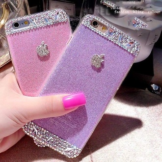 phone cover rhinestones glitter iphone 6 case