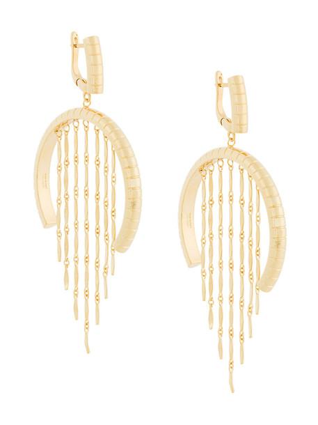 I.V.I. women gold grey metallic jewels
