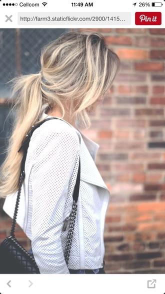 coat white jacket white mesh mesh jacket