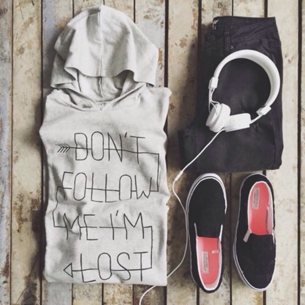 sweater sportswear workout cozy relax quote on it quote on it grey outfit pullover shoes coat