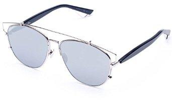 3a08249a30f8 Amazon.com  Dior Technologic Sunglasses 57mm Silver  Clothing