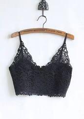top,bralette,crop tops,black,sexy top,floral top,lace top,lace bralette,elegant,beautiful
