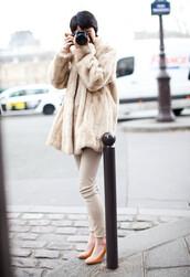 garance dore,beige shoes,shoes