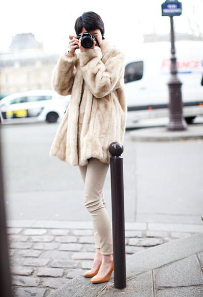 garance dore beige shoes