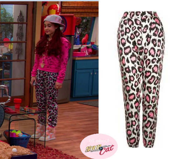 Shoes: cat valentine, pants, jacket, hat