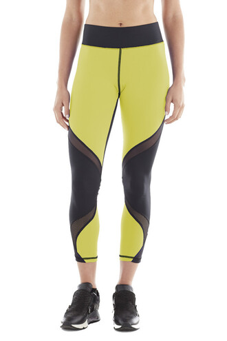 pajamas high end leggings michi acid yellow yellow bikiniluxe
