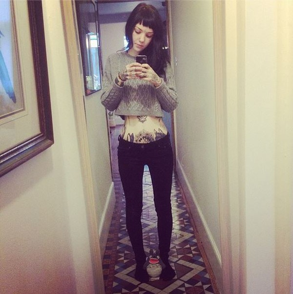grace neutral jumper crop tops london sweater