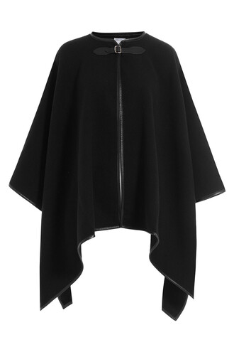 cape leather wool black top