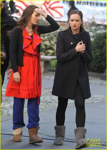 ivy dickens gossip girl coat kaylee