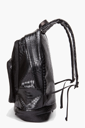 Marc by marc jacobs nifty gifty python backpack for men