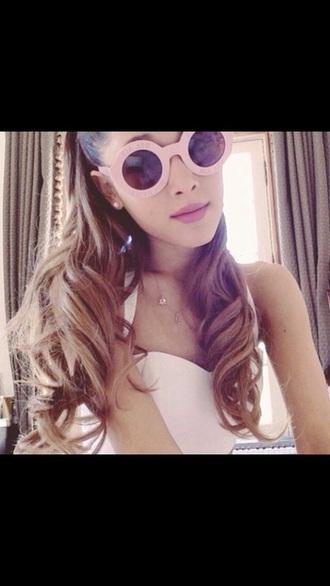 sunglasses pink pink sunglasses victoria secret pink sunglasses ariana grande