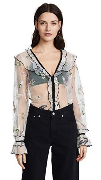Alice McCall blouse top