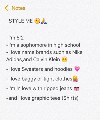 shirt cool ripped jeans sweater hoodie graphic tee style me back to school nike adidas calvin klein cropped sweater cropped hoodie baggy pants tights