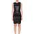 Stretch Nappa Leather Mini Dress