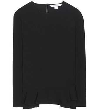 top silk black