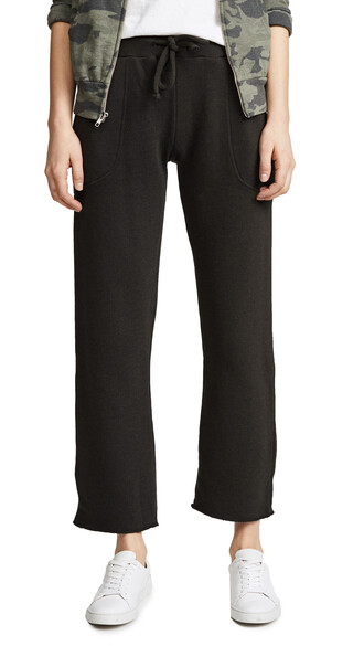 pants cropped forest