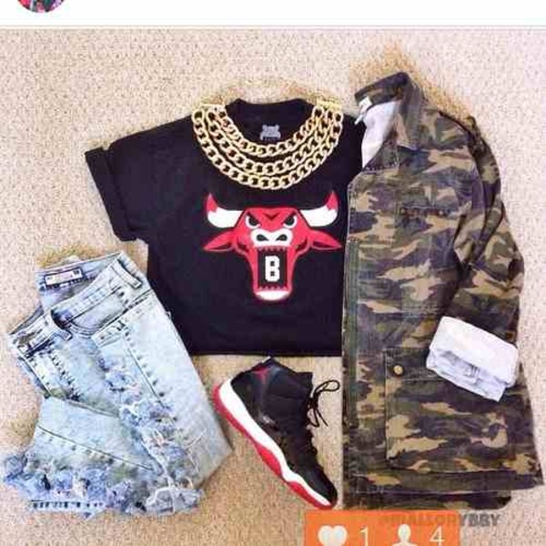 shirt jacket camouflage long sleeves camouflage outerwear camo jacket jeans jewels ebay pants chicago bulls bulls tee black red breds dope top blouse gold chain