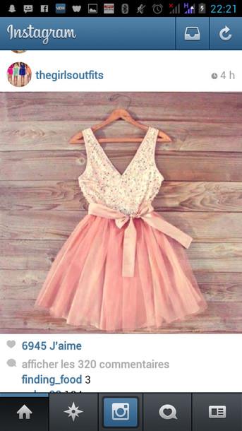 dress pink dress cute dress sexy party dresses