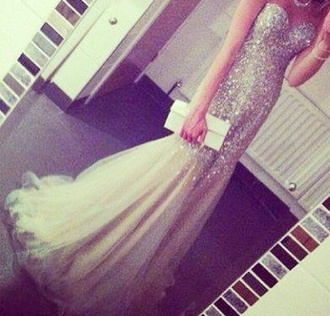 dress prom dress long prom dress nude nude dress prom dress long silver white glitter white dress glitter dress long dress