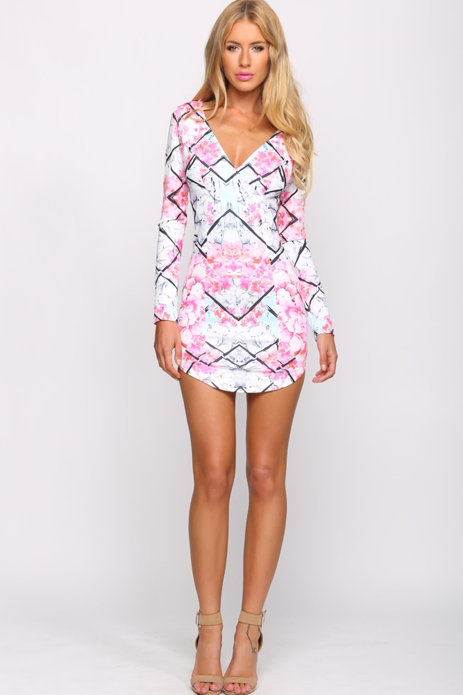 HelloMolly | Loving Life Dress Pink - Dresses