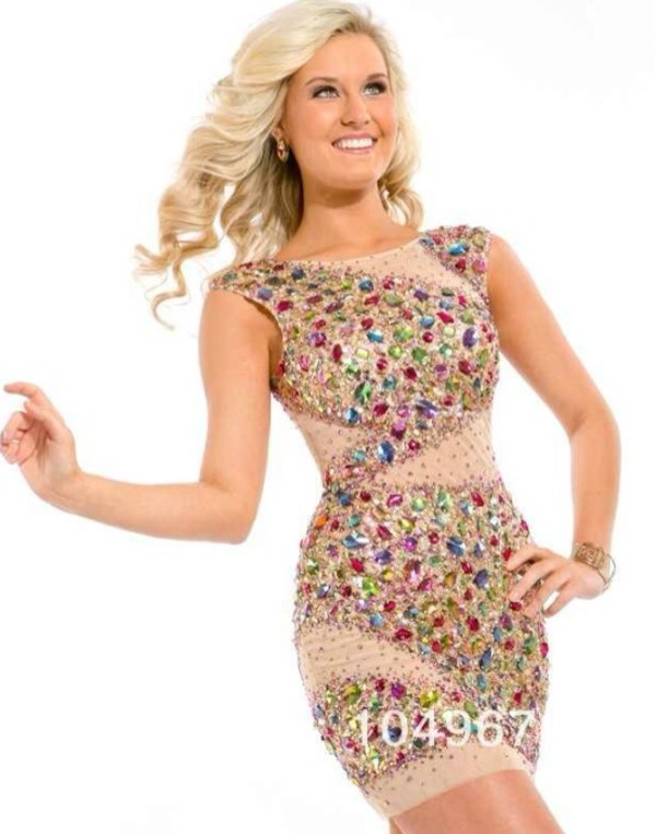sparkle nude high heels prom dress homecoming dress style sherri hill high-low dresses t-shirt shorts glitter dress